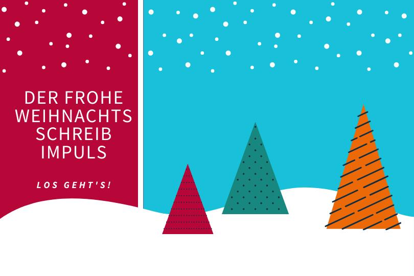 Schreibimpuls für Weihnachten von Treffpunkt Schreiben
