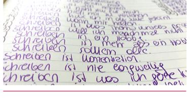 Schreibimpuls - Schreiben ist